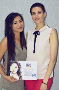 Отчет о Курсах макияжа профессионал индивидуально 20 дней Мадина